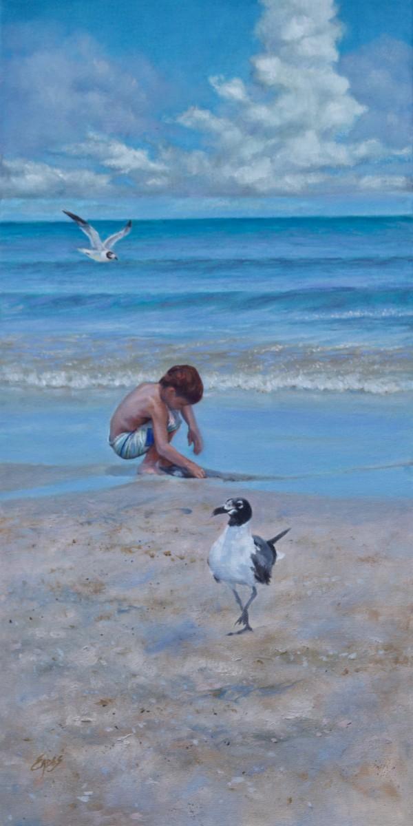 I Feel the Sea.... It's Alive by Linda Eades Blackburn