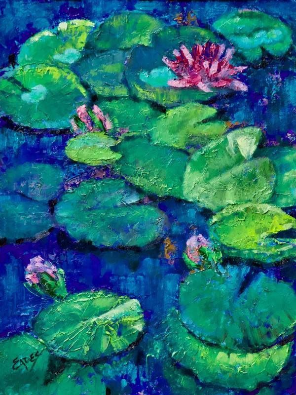 Just Floating Along by Linda Eades Blackburn