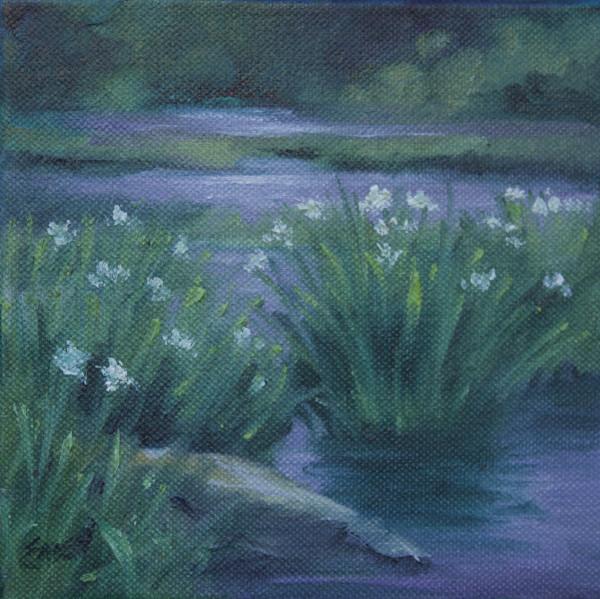Lake Flowers by Linda Eades Blackburn