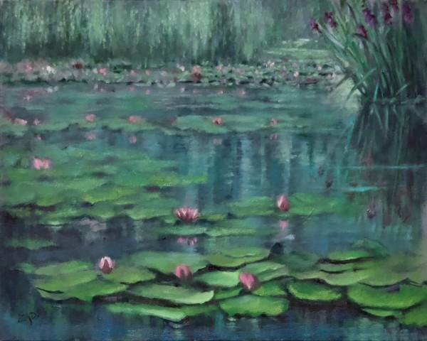 Lake Lilies by Linda Eades Blackburn