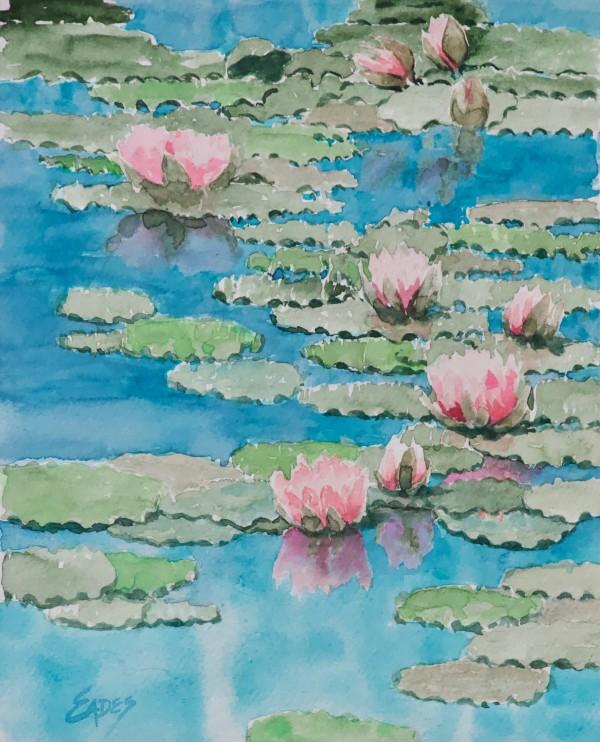 Lilies of the Spring by Linda Eades Blackburn