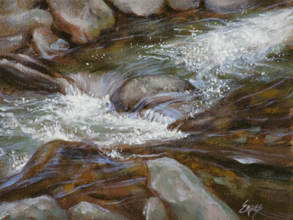Mountain Stream by Linda Eades Blackburn