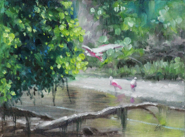 Off Bennet Creek by Linda Eades Blackburn