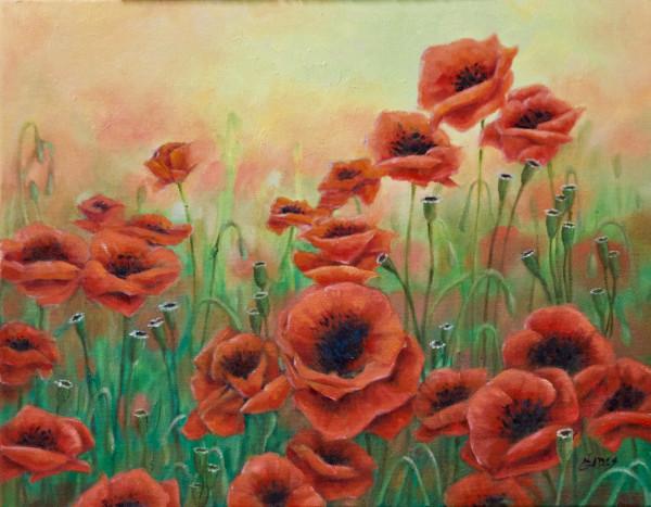 Poppies by Linda Eades Blackburn