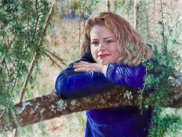 Rileigh at the Biltmore by Linda Eades Blackburn