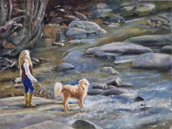 Rileigh and Charlie by Linda Eades Blackburn