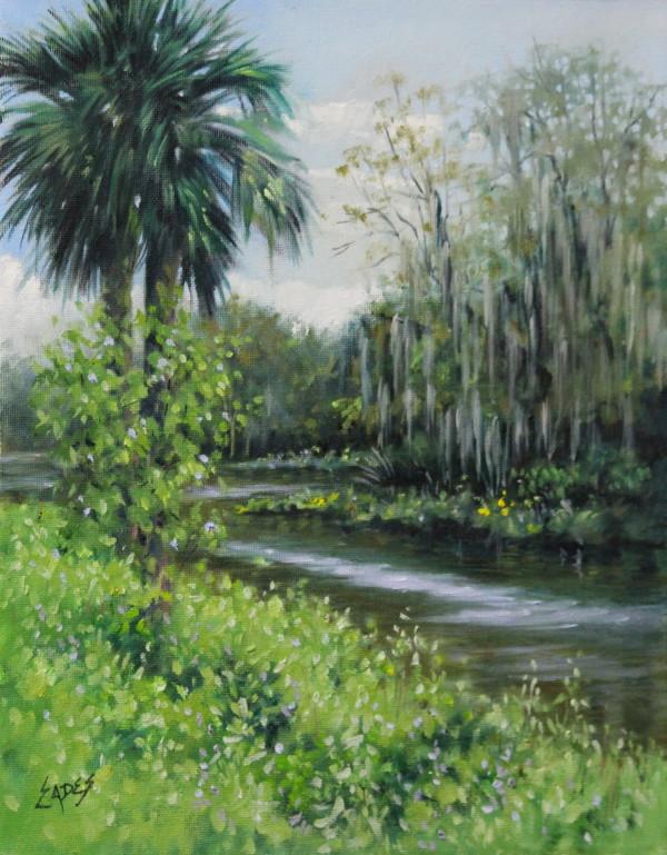 Silver Springs En Plein Air by Linda Eades Blackburn