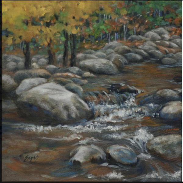 Fall Stream by Linda Eades Blackburn