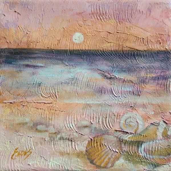 Sea Textures by Linda Eades Blackburn