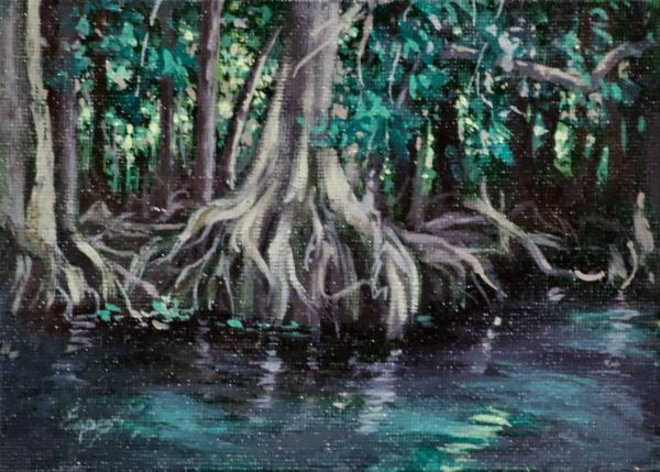 Silver River Mini by Linda Eades Blackburn