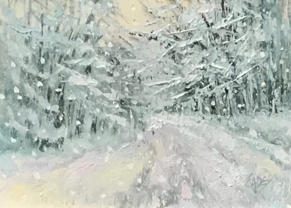 Snow Day by Linda Eades Blackburn