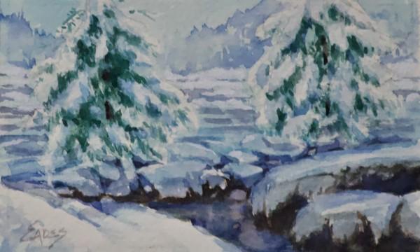 Snow and Ice by Linda Eades Blackburn