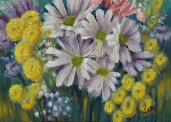 Spring Flowers by Linda Eades Blackburn
