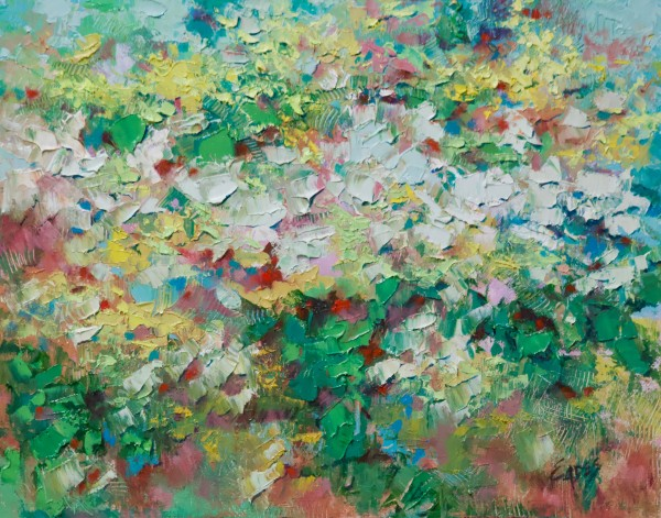 Spring on my Mind by Linda Eades Blackburn