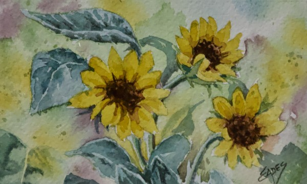 Sunflower Fun by Linda Eades Blackburn