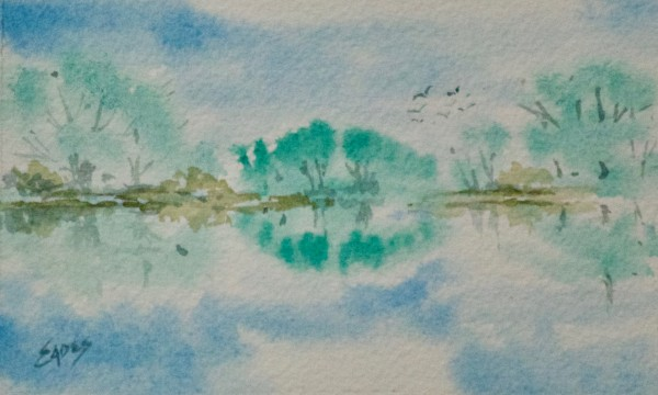 Tranquility by Linda Eades Blackburn