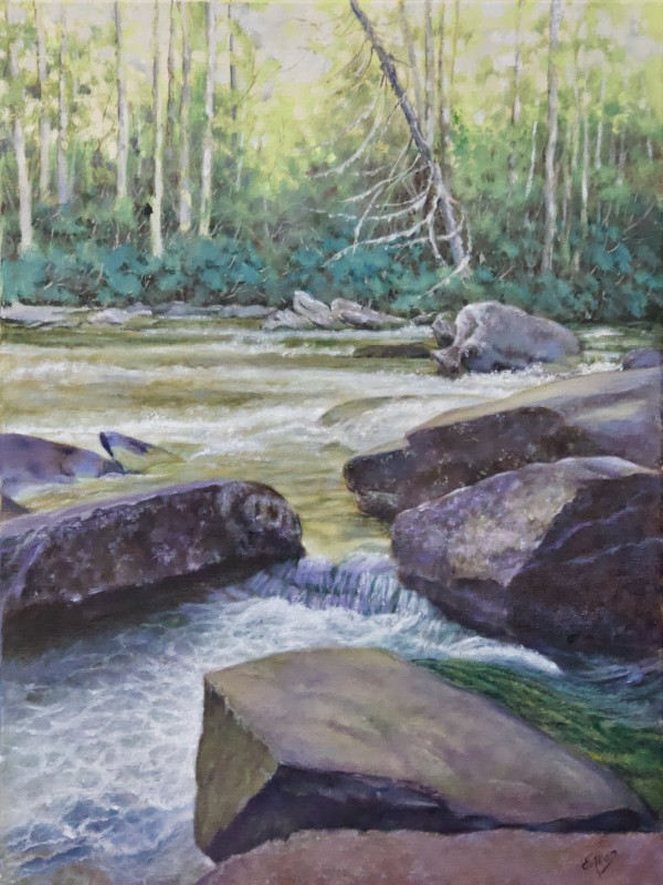 View From the Trail by Linda Eades Blackburn