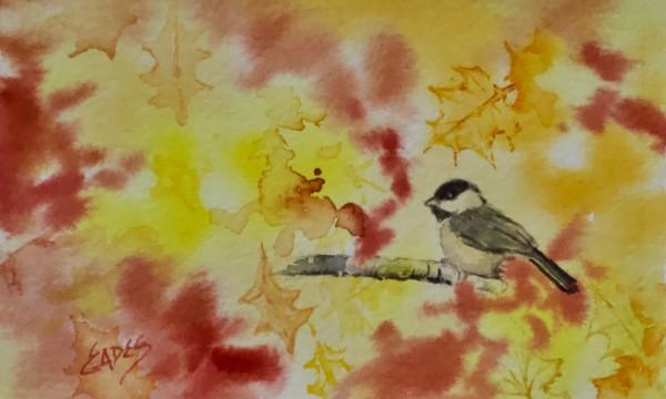 View Thru the Autumn Leaves by Linda Eades Blackburn