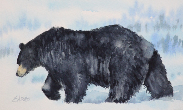 Walking Bear by Linda Eades Blackburn