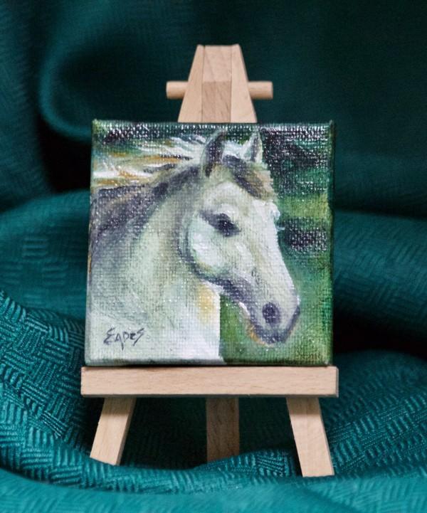 White Horse by Linda Eades Blackburn