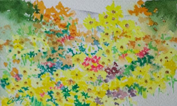Wildflower Invasion by Linda Eades Blackburn