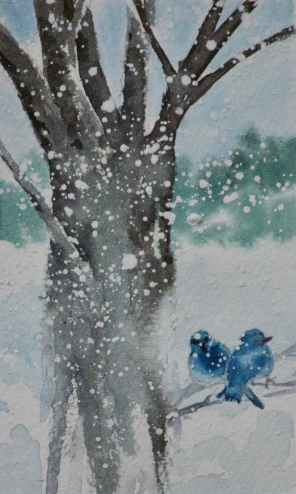 Winter Blues by Linda Eades Blackburn