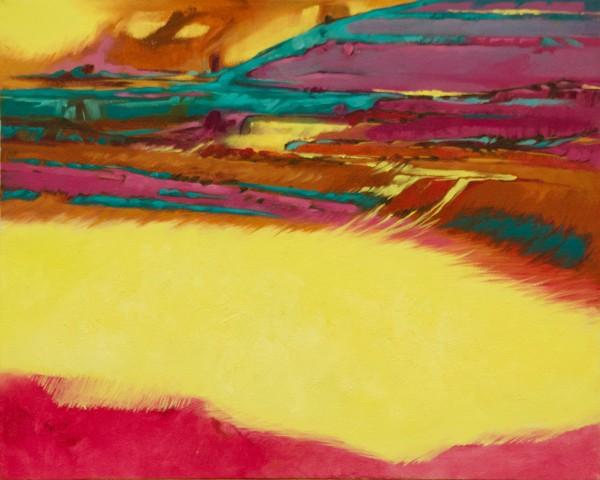 Yellow Emergence by Linda Eades Blackburn