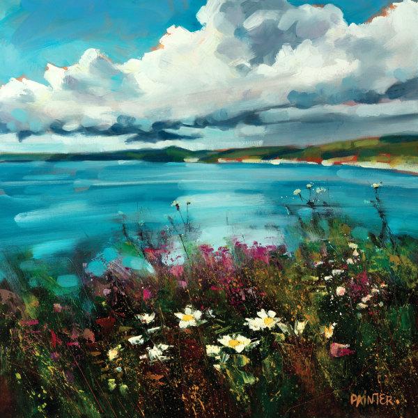 Be Free - Gunwalloe, Cornwall by Rachel Painter