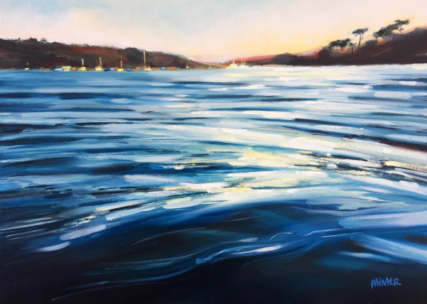 Paved With Light - Durgan Beach, Cornwall by Rachel Painter