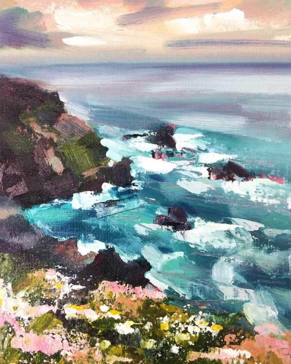The Water & The Horizon No.2 by Rachel Painter