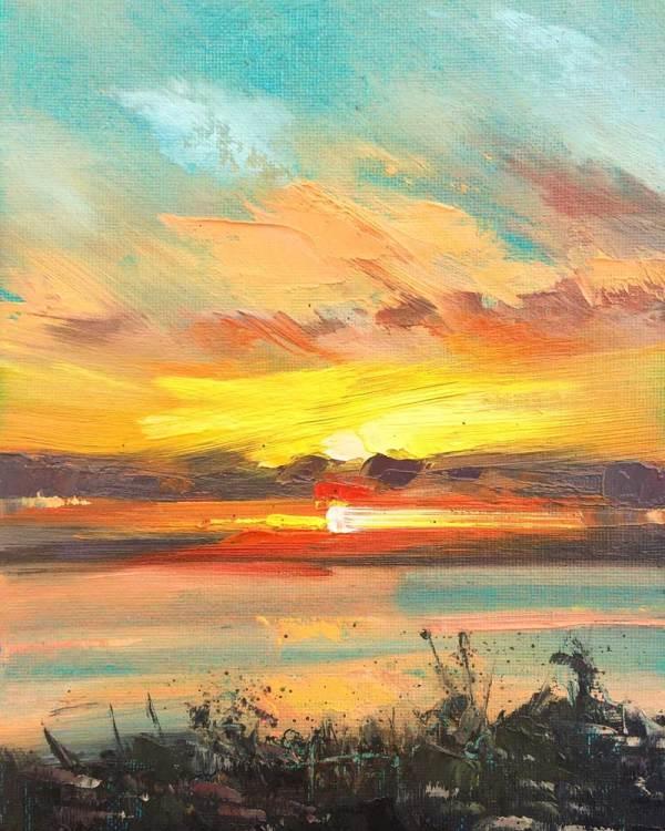 The Water & The Horizon No.3 by Rachel Painter