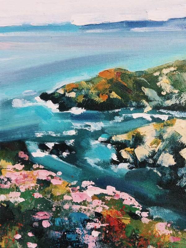 The Water & The Horizon No.4 by Rachel Painter
