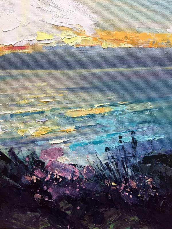 The Water & The Horizon No.5 by Rachel Painter