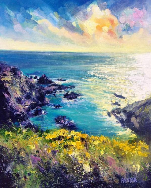 Wild & Free - Gunwalloe, Cornwall by Rachel Painter