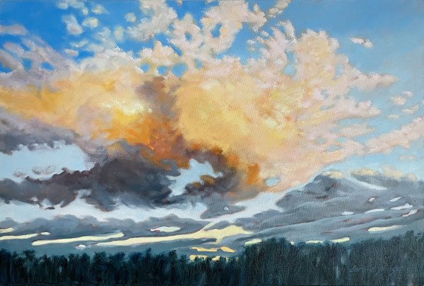 Gold Clouds by Daryl D. Johnson
