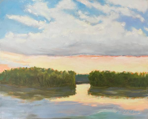 Island Glow by Daryl D. Johnson