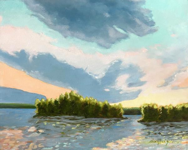 Island Waves by Daryl D. Johnson