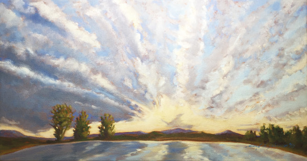 Morning Glory (Sketch) by Daryl D. Johnson