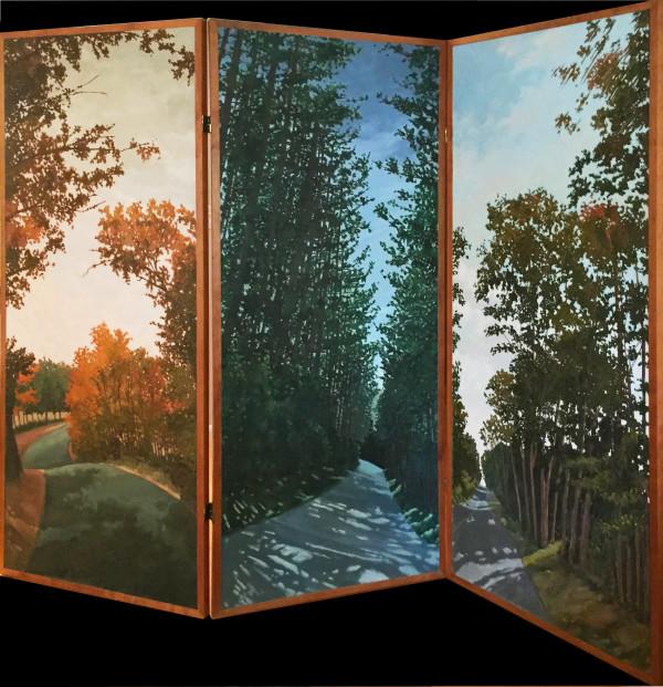 Triptych by Daryl D. Johnson