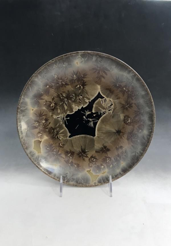 Medium Oriental Plate by Nichole Vikdal