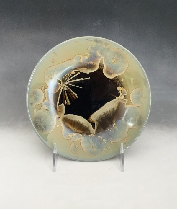 Small Oriental Plate by Nichole Vikdal