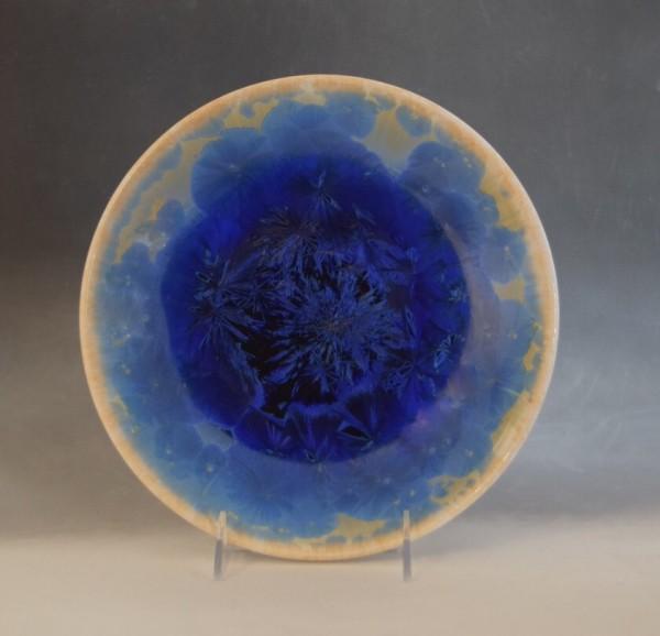 Blue Plate by Nichole Vikdal