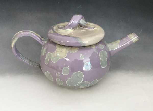 Lavender Tea Pot + 2 cups by Nichole Vikdal