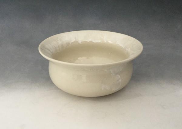 Small White Pot by Nichole Vikdal