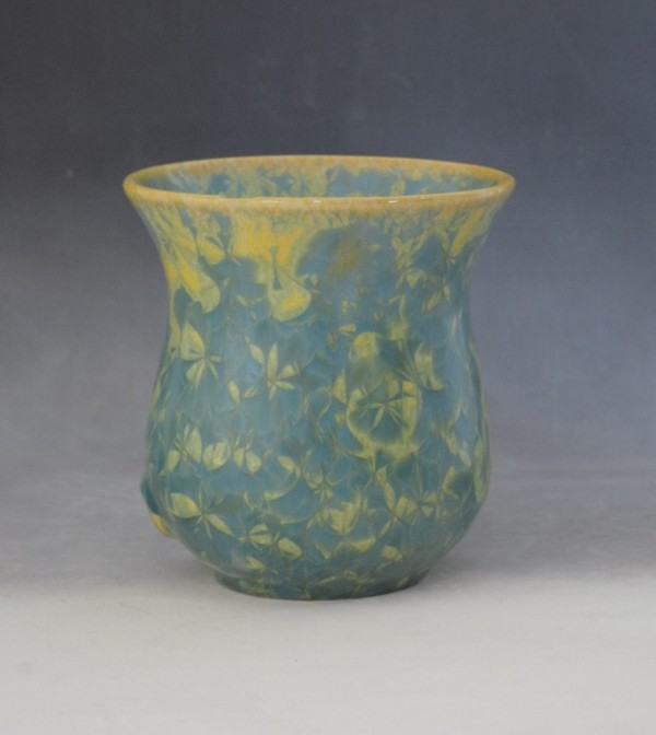 Green and Yellow Pot by Nichole Vikdal