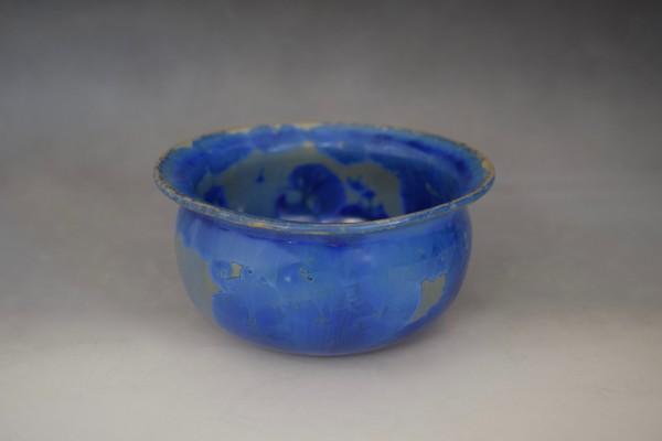 Small Blue Pot by Nichole Vikdal