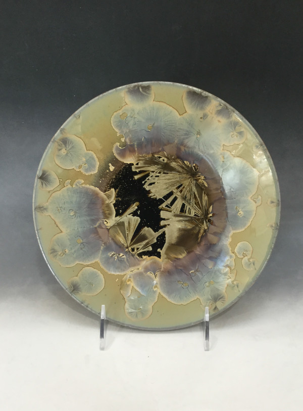 Medium Oriental Plate by Nichole Vikdal