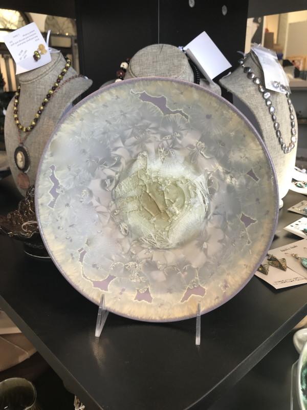 Lavender w/white bowl by Nichole Vikdal