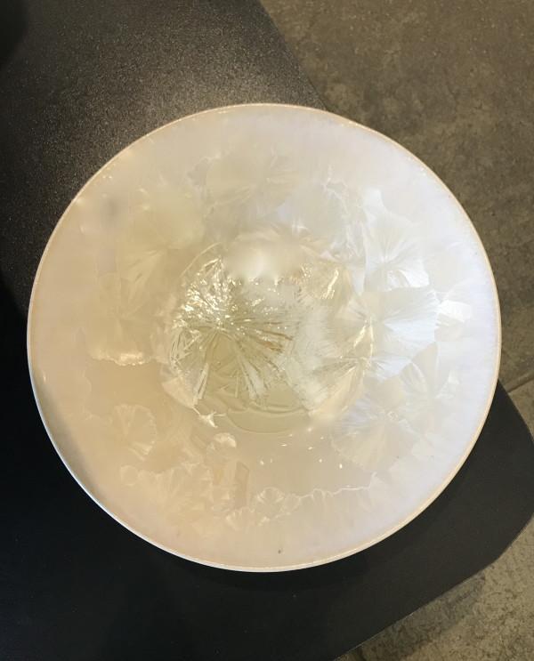 White bowl by Nichole Vikdal