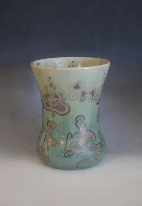 Green Vase by Nichole Vikdal